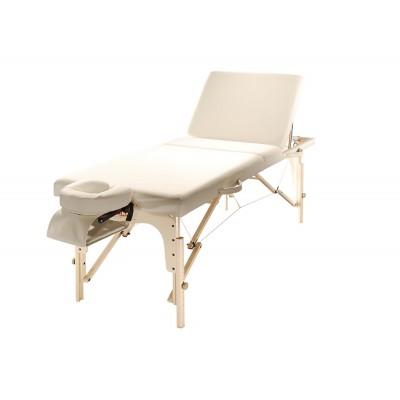 מיטת טיפולים עם גב מתכוונן דגם LBT